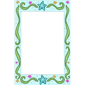 under the sea frame