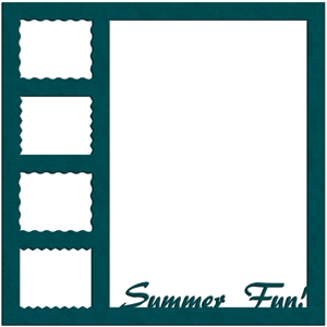summer fun frame