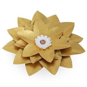 3d gold star flower