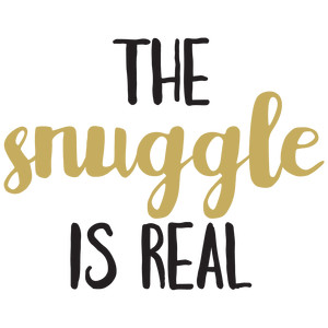 baby t-shirt: the snuggle is real