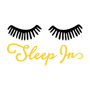 sleep in eyelashes