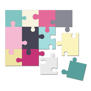 easy cut activity puzzle 5 in. x 6 in.