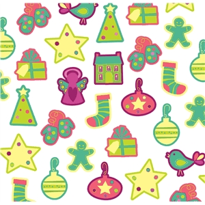 holiday pattern large scale