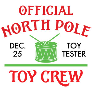 official north pole toy crew