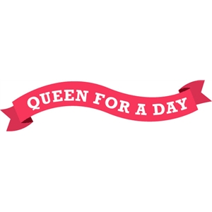 echo park queen for a day banner