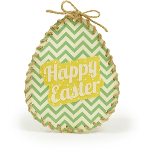 easter egg stitched candy pouch