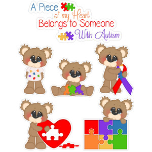autism bears awareness and title