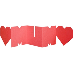 mum accordion mini album