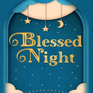 blessed night font