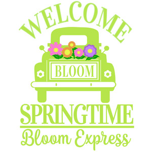 welcome spring truck