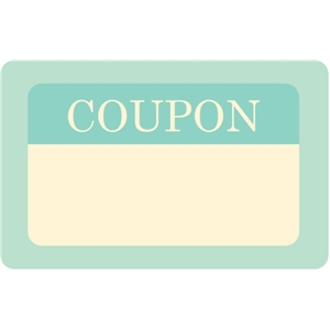 coupon journaling card