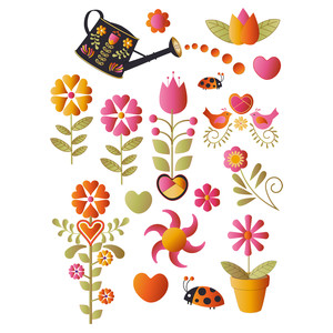 folk art two planner stickers