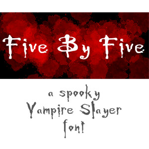 five by five font