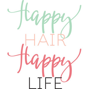 happy hair happy life