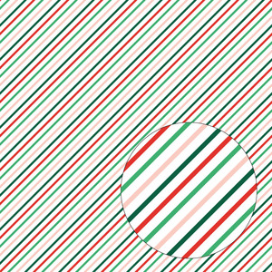 christmas stripes seamless pattern