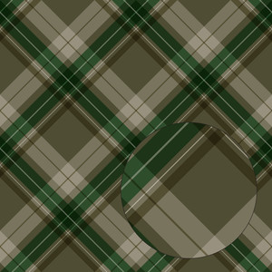 green christmas plaid seamless pattern