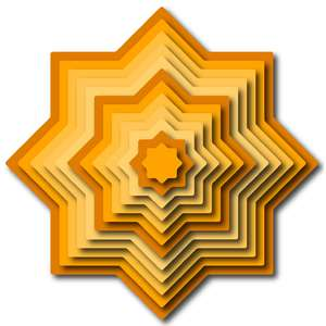 nested star medallion