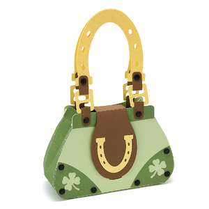 shamrock horseshoe purse