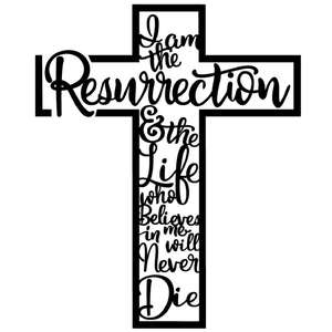 resurrection cross