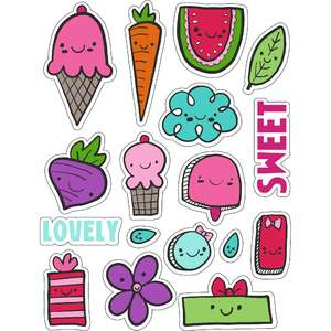 ml kawaii lovely ones stickers