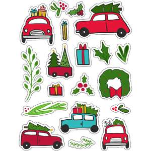 ml christmas tree on cars stickers