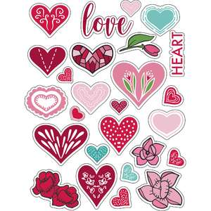 ml heart heart stickers