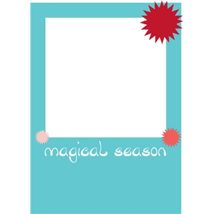 magical season photo card