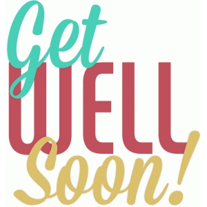 get well soon text