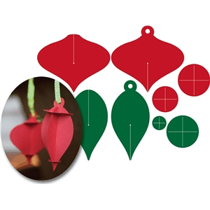 Christmas 3D ornaments