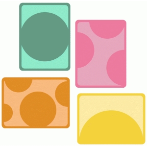circle cutout journaling cards