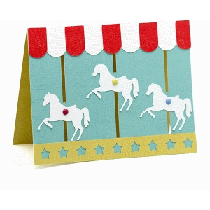 a2 interactive carousel card