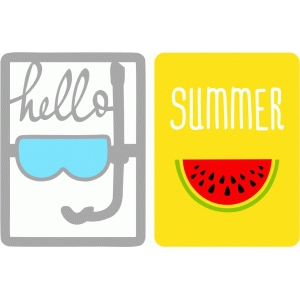 hello summer cards