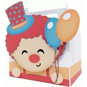 cute clown box