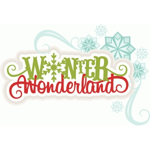winter wonderland title