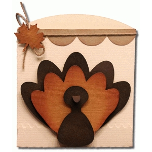 turkey short envelope bag