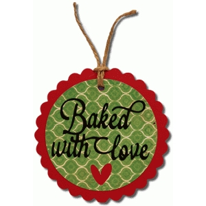 baked with love scallop tag