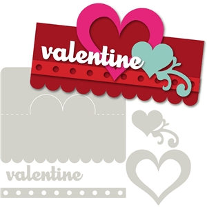 1-bag topper kit valentine