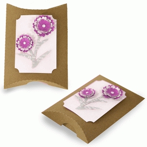 double flower pillow box