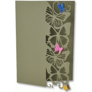 butterfly edge card