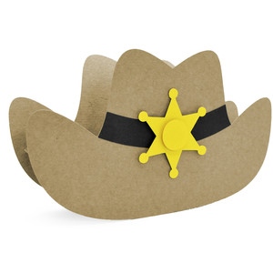 sheriff hat box