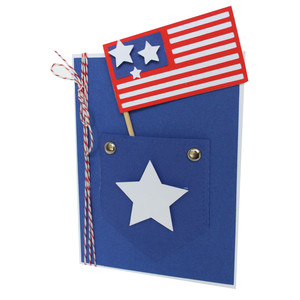 patriotic jean pocket card