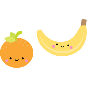 banana & orange - sweet summer