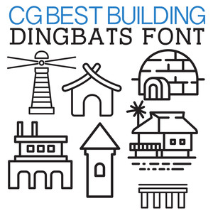 cg best building dingbats