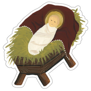 jesus in the manger