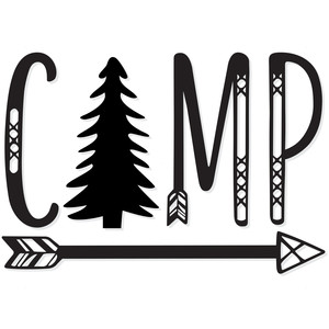 camp forest tree