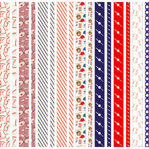 baseball-themed washi/border tapes