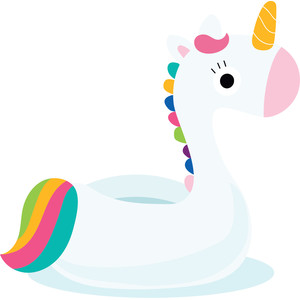 unicorn floatie
