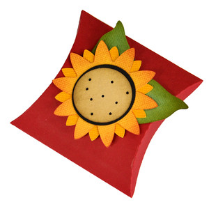 sunflower pillow gift box