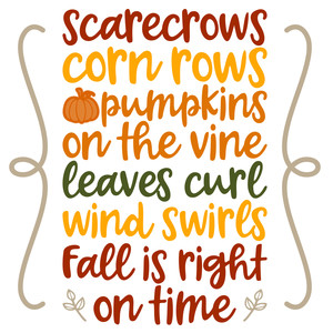 scarecrow saying