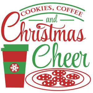 cookies coffee & christmas cheer